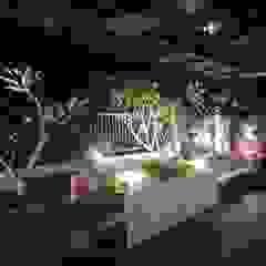 Kosasi House, Kedamaian. Palembang City Taman Minimalis Oleh Lighthouse Architect Indonesia Minimalis