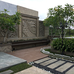 A Classic, Citra Garden. Medan City Taman Klasik Oleh Lighthouse Architect Indonesia Klasik