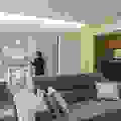 Casa S Soggiorno minimalista di Casaburi & Memoli Architetti Minimalista Piastrelle
