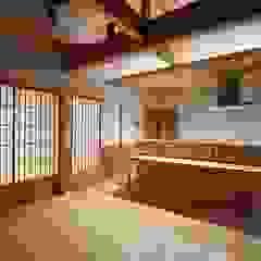 COTTAGE カントリーデザインの キッチン の 松井設計 カントリー