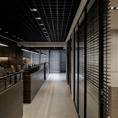 《蘊藏》 辰林設計 Asian style offices & stores Brown