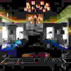 Locais de eventos campestres por drew architects + interiors Campestre Madeira Acabamento em madeira