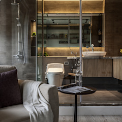 Industrial style bathrooms by 漢玥室內設計 Industrial Tiles