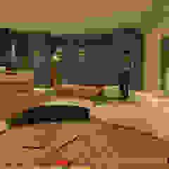 من 京悅室內裝修設計工程(有)公司 真水空間建築設計居研所 تبسيطي زجاج