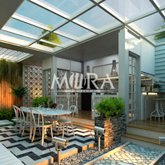 por Maxima Studio Medan Interior Design & Arsitek Tropical