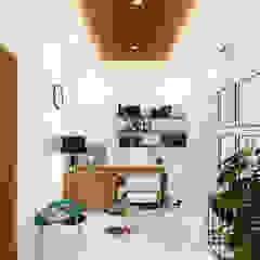 Tropical style study/office by SEKALA Studio Tropical Wood Wood effect
