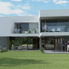 Casa R-R de Estudio D3B Arquitectos Minimalista Hormigón
