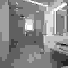 Apartment D Bagno moderno di olivia Sciuto Moderno