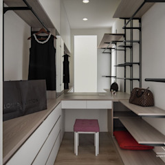 Closets por 極簡室內設計 Simple Design Studio Escandinavo