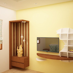Asian style walls & floors by homify Asian