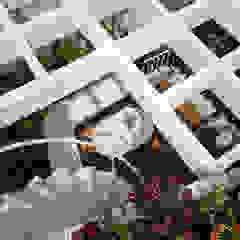 Ngắm Ngôi Nhà 1 Trệt 2 Lầu 6x8m Với Thiết Kế Mặt Tiền Đẹp, Độc Đáo Hiên, sân thượng phong cách hiện đại bởi Công ty TNHH Xây Dựng TM – DV Song Phát Hiện đại