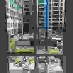 หน้าต่างแบบสลิม โดย ฺBB Wall โมเดิร์น