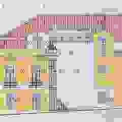 Câmara Municipal de Alcochete - Edifício dos Paços do Concelho por Pedro de Almeida Carvalho, Arquitecto, Lda Clássico Pedra