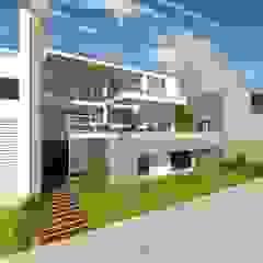 [PROYECTO] Casa T - Lomas del Mar de bvtarquitecto Moderno