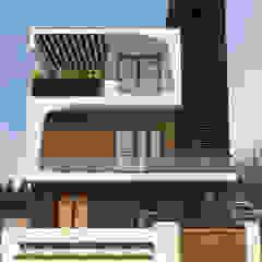 現代房屋設計點子、靈感 & 圖片 根據 Studio Rhomboid 現代風