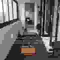 Balcony Design Designer House Balconies, verandas & terraces Accessories & decoration Aluminium/Zinc Black