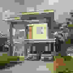 من แบบบ้านออกแบบบ้านเชียงใหม่ حداثي الخرسانة