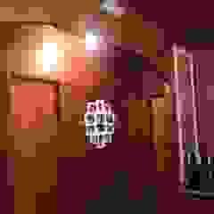 Casa de veraneio fazenda camping paineiras-Itú SP. Corredores, halls e escadas campestres por STUDIO ROCHA ARQUITETURA E DESIGN DE INTERIORES Campestre