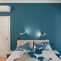 Industrial style bedroom by 07am architetti Industrial