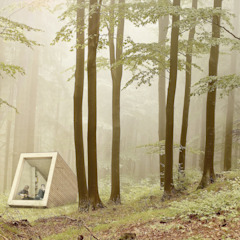 Tiny Cabin van NOHNIK architecture and landscapes Modern