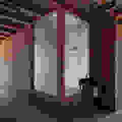 de 伊藤憲吾建築設計事務所 Asiático Madera Acabado en madera