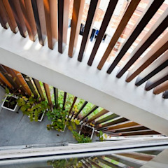 Ngắm Diện Mạo Ngôi Nhà Phố 32m2 Tuyệt Đẹp Trong Hẻm Nhỏ Sài Gòn bởi Công ty TNHH Xây Dựng TM – DV Song Phát Hiện đại