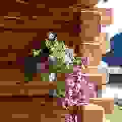 by Woodbau Srl Rustic Wood Wood effect