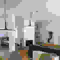 Traços Interiores Living roomLighting Aluminium/Zinc Black