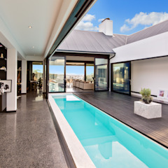 House Viljoen by Hugo Hamity Architects Modern Bricks