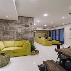 Industrial Living room Industrial style corridor, hallway and stairs by Aorta the heart of art Industrial ٹھوس لکڑی Multicolored