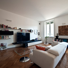 Modern Living Room by Gianluca Bugeia ARCHITETTO Modern