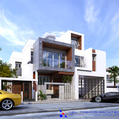 LSS HOUSE 2 NEIL TABADA ARCHITECTS Modern home