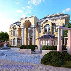 CLASSICAL VILLA 2 NEIL TABADA ARCHITECTS Modern home