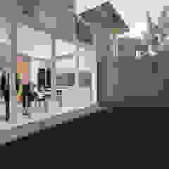 Pagar Huni Residence Taman Minimalis Oleh ARAT Design Minimalis