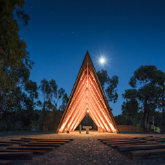 by Plano Humano Arquitectos Minimalist Wood Wood effect