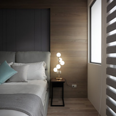 星葉室內裝修有限公司 Dormitorios de estilo moderno