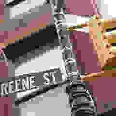 53 Greene Street od GD Arredamenti Kolonialny Cegły
