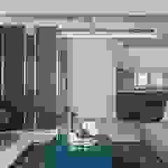 Paredes y pisos minimalistas de E&C創意設計有限公司 Minimalista