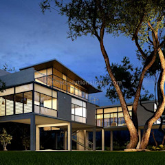 Architectural 3D exterior rendering by winbizsolutions Modern