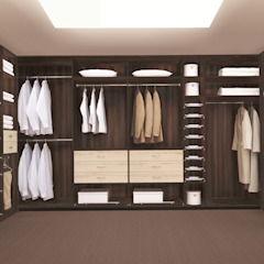 Classic style dressing rooms by CARE MOBILIARIO MADRID,S.L. Classic Wood Wood effect
