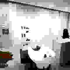 Barbearia Spa industrial por Andreia Louraço - Designer de Interiores (Contacto: atelier.andreialouraco@gmail.com) Industrial
