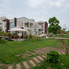 15000 Sq.Ft Bungalow by ZEAL Arch Designs Modern