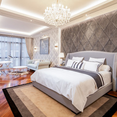 PRIVATE RESIDENTIAL @ NAVAPARK, BSD CITY, TANGERANG, INDONESIA Kamar Tidur Modern Oleh PT. Dekorasi Hunian Indonesia (DHI) Modern
