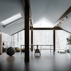 Eclectic style gym by ST-buro Eclectic