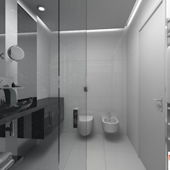Grupo DH arquitetura BathroomSeating White