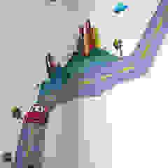 alcobas infantiles de Omar Interior Designer Empresa de Diseño Interior, remodelacion, Cocinas integrales, Decoración Moderno Madera Acabado en madera