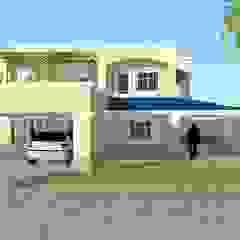 ESPACIO ARQ - Estudio Rumah Gaya Kolonial Batu Bata Yellow