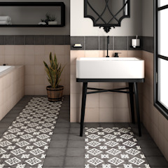 Mediterranean style bathrooms by Equipe Ceramicas Mediterranean Ceramic