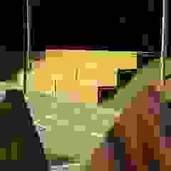 من DELISABATINI architetti بحر أبيض متوسط خشب Wood effect