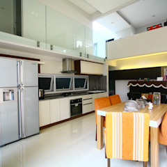 Living Dining Room Ruang Makan Modern Oleh Exxo interior Modern